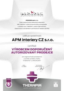 CERTIFIKAT_prodejce 2013_cz APM